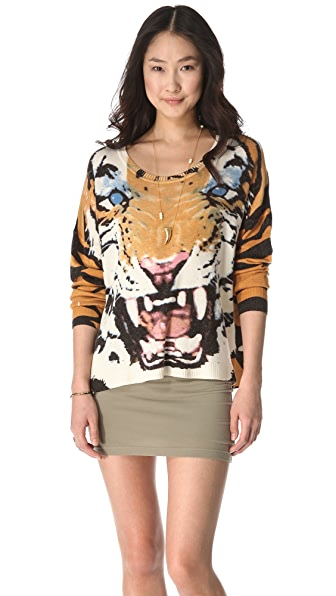 MINKPINK Roar Printed Sweater