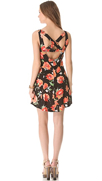 MINKPINK Bittersweet Cross Back Dress