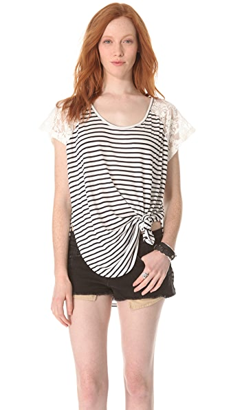 MINKPINK Fanciful Tunic Tee