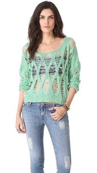 MINKPINK Hole In One Sweater