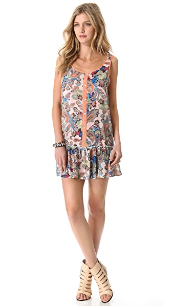 MINKPINK The Lost Ones Drop Waist Dress