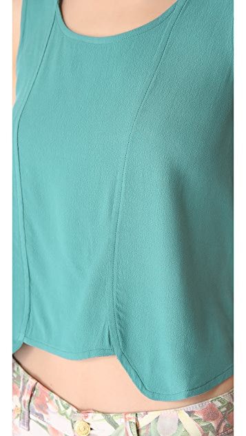 MINKPINK She Sells Sea Shells Top