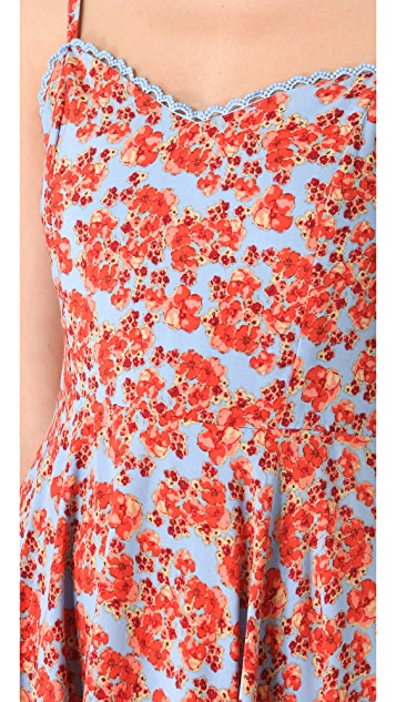 MINKPINK Red Sky Dress