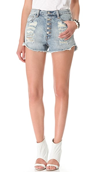 MINKPINK Exposed Slasher Flick Shorts