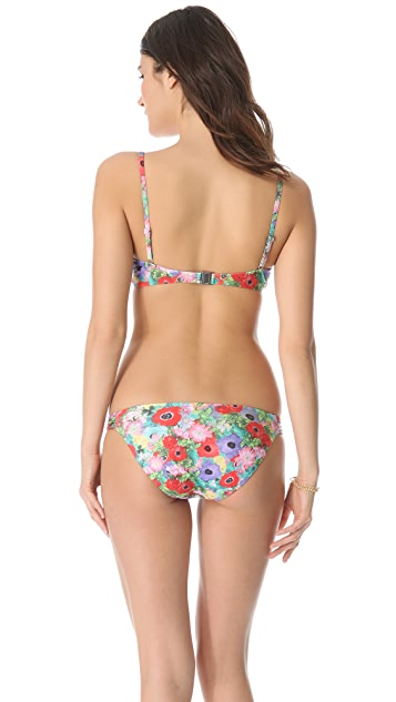MINKPINK Lexi Pintuck Bikini Top