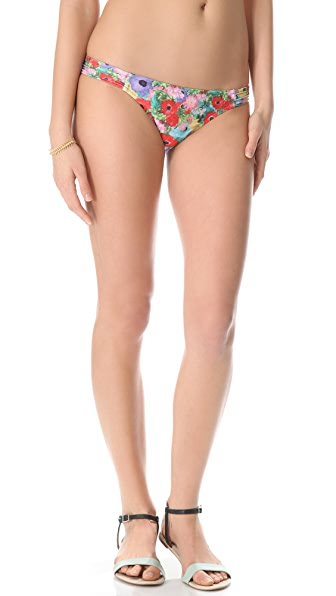 MINKPINK Lexi Pintuck Bikini Bottoms