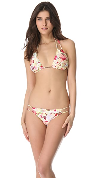 MINKPINK Sadie Tie Triangle Bikini Top