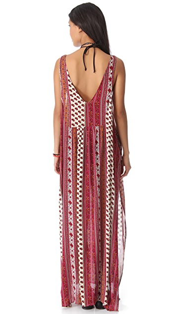 MINKPINK Maya Cover Up Maxi Dress