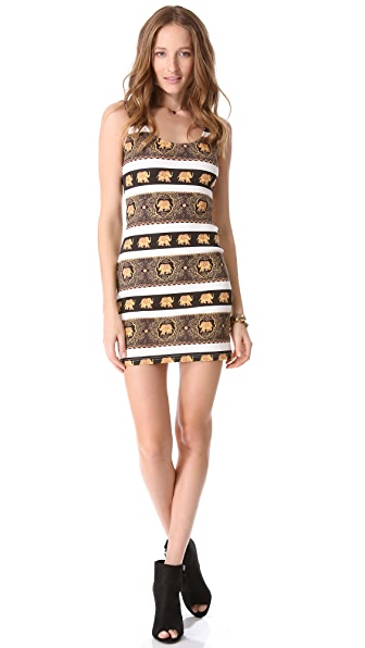 MINKPINK Pride Lands Mini Dress