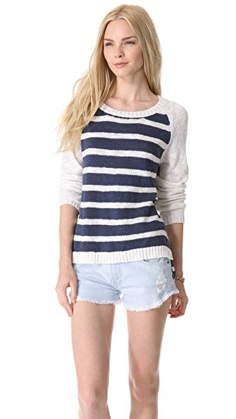 MINKPINK Cruising Raglan Sweater