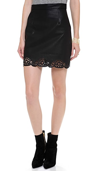 MINKPINK Naughty and Nice Skirt