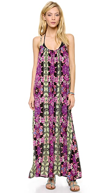 MINKPINK Tahiti Maxi Cover Up Dress