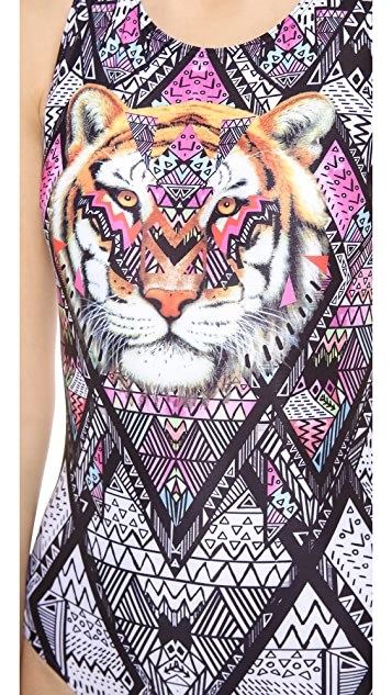 MINKPINK Tiger Tribe One Piece Swimsuit
