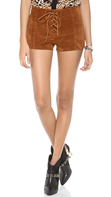 MINKPINK Boot Scooting Shorts