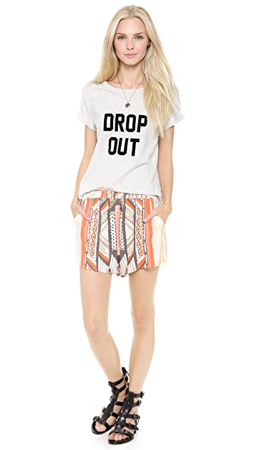 MINKPINK Drop Out Tee