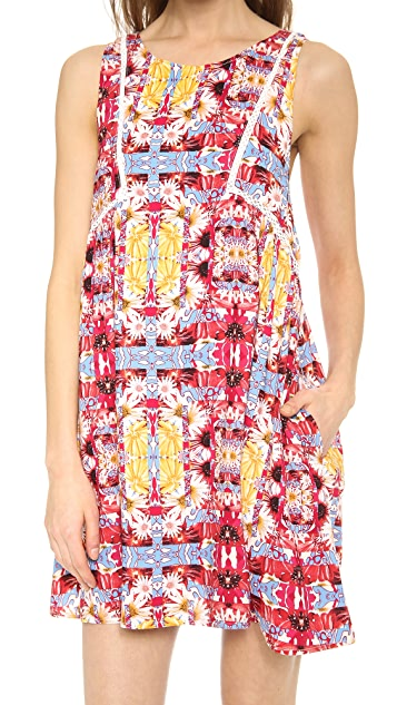 MINKPINK Combi Garden Dress
