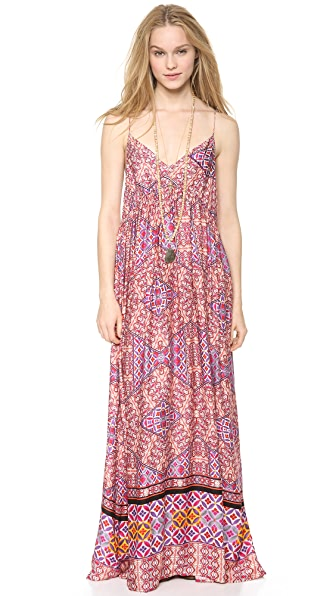 MINKPINK Watercolor Tiles Maxi Dress
