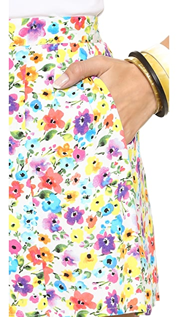 MINKPINK Wildflower Patch Shorts
