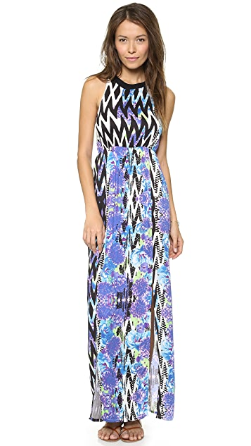 MINKPINK Garden Breeze Maxi Cover Up Dress
