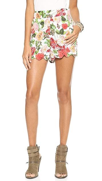 MINKPINK Wild Roses Shorts