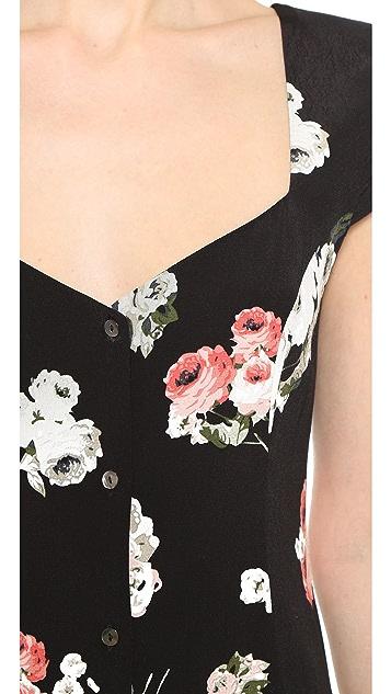 MINKPINK Moon Flower Midi Dress