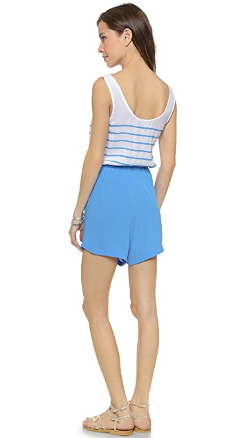 MINKPINK From Paris With Love Romper