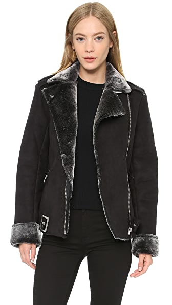 MINKPINK Under Control Sherpa Jacket