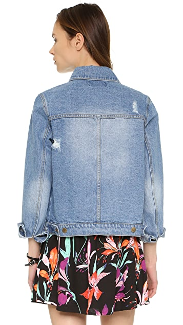 MINKPINK Street Riot Denim Jacket