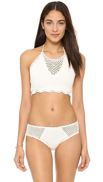 MINKPINK Dreamweaver Crop Bikini Top