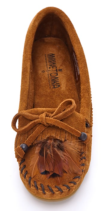 Minnetonka Feather Moccasins