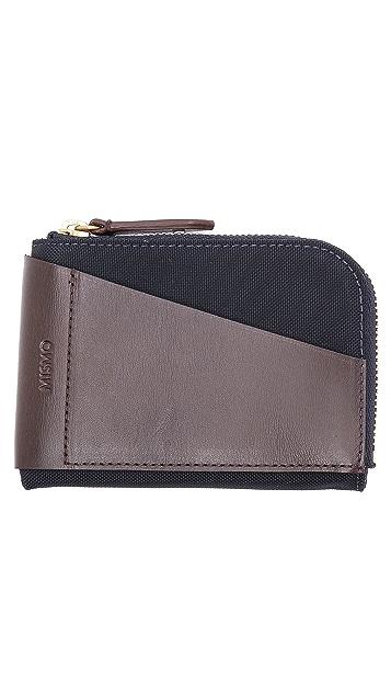 Mismo M/S Cards & Coins Zip Wallet