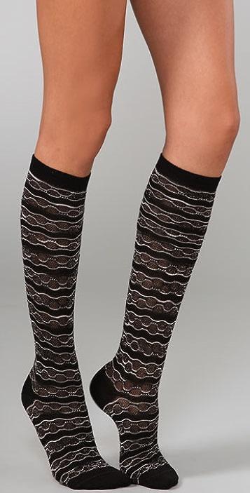 Missoni Intarsia Knee Socks