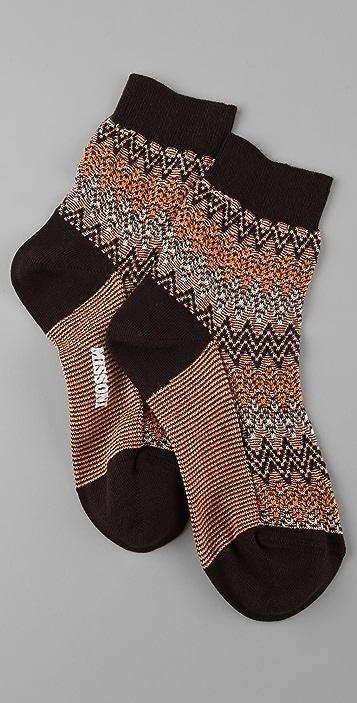 Missoni Zigzag Angle Socks