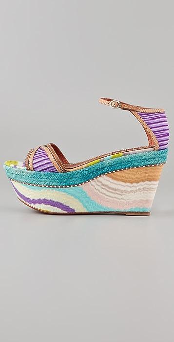 Missoni One Band Flatform Sandals