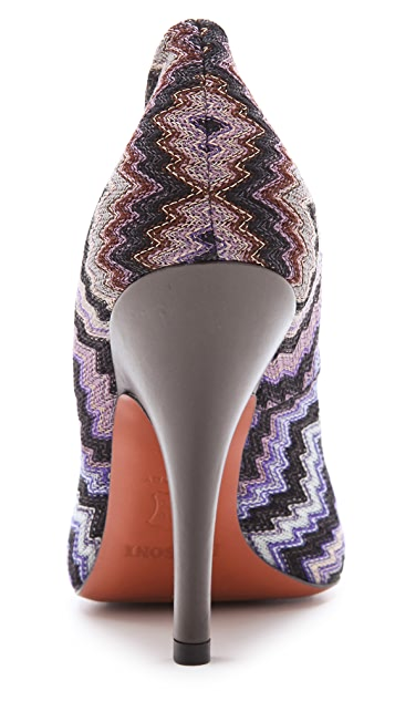 Missoni Missoni Print Pumps