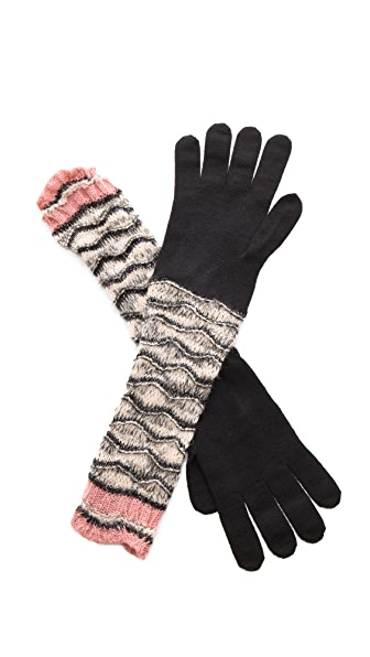 Missoni Wave Gloves