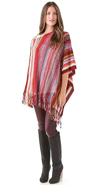 Missoni Striped Poncho
