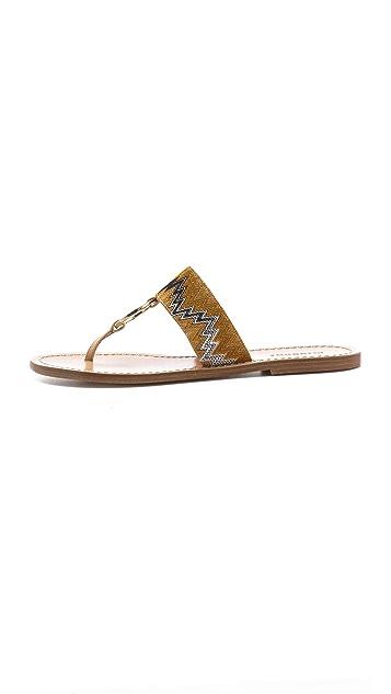 Missoni Flat Sandals