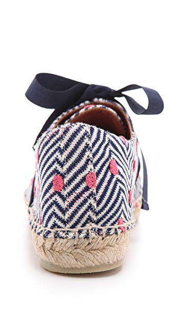 Missoni Dotted Espadrille Sneakers