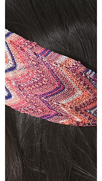 Missoni Mixed Print Headband