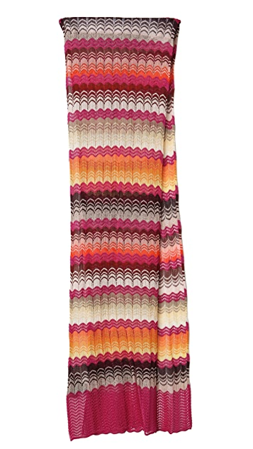 Missoni Wave Print Scarf