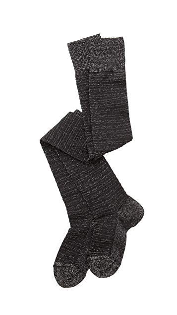 Missoni Shimmer Stripe Thigh High Socks