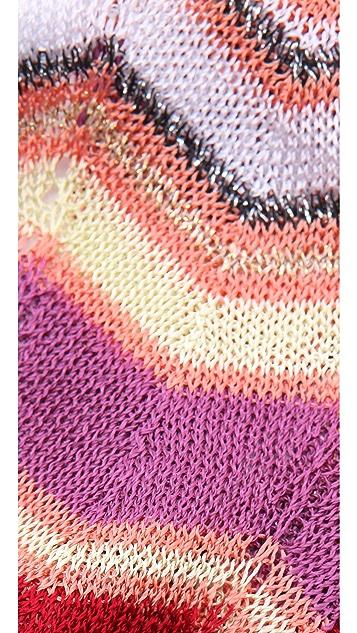 Missoni Zigzag Knit Headband