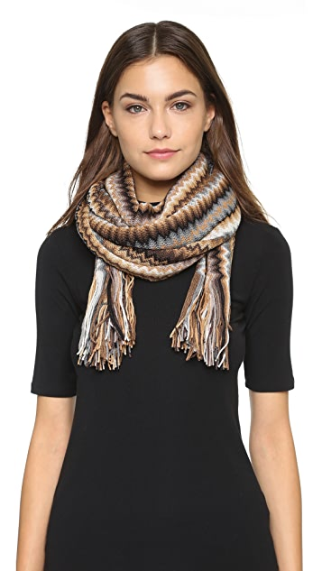Missoni Knitted Scarf