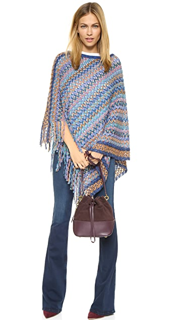 Missoni Knit Poncho
