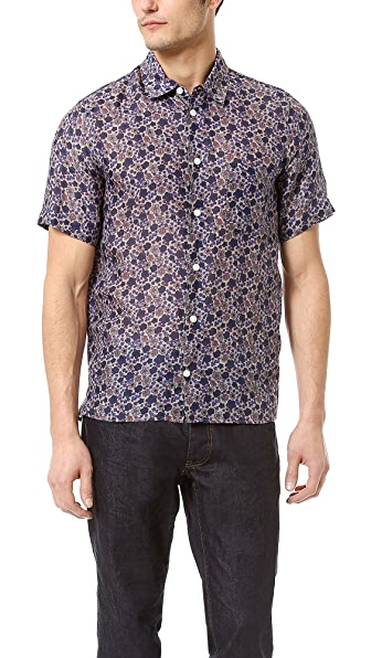 Marc Jacobs Short Sleeve Sport Shirt