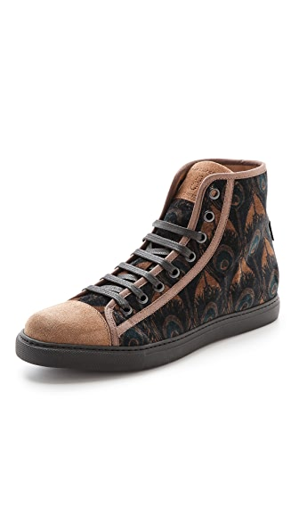 Marc Jacobs Peacock High Top Sneakers