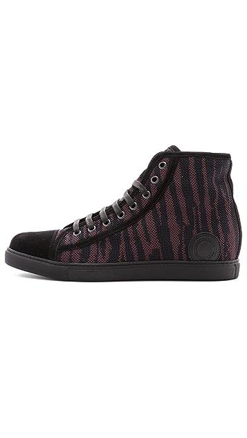 Marc Jacobs Zebra High Top Sneakers