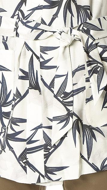 Marc Jacobs Shadow Leaf Kimono