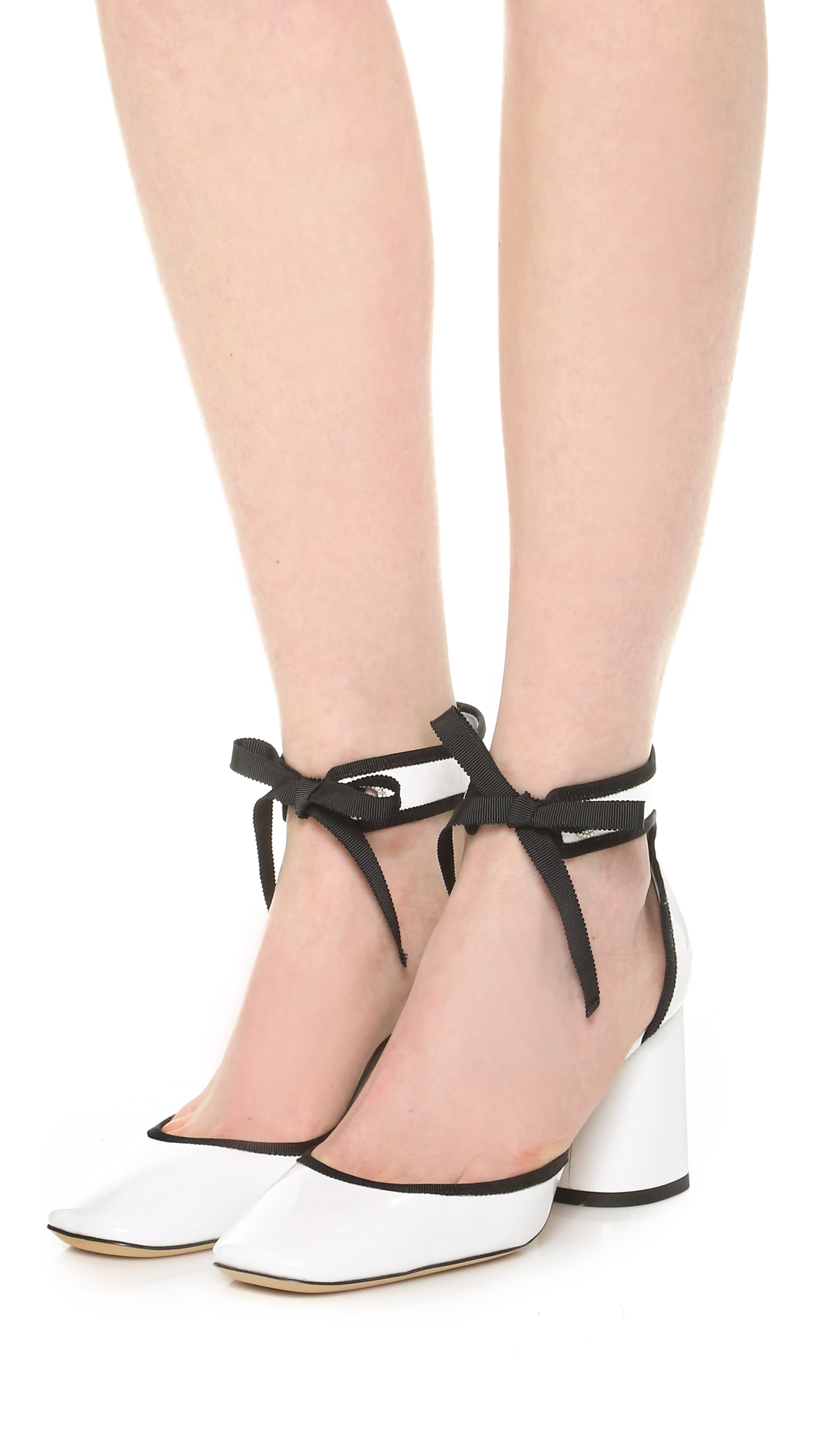 a6e50bbe8193 Marc Jacobs Elle Ankle Strap Pumps